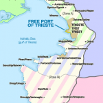 Map of the Free Territory of Trieste today