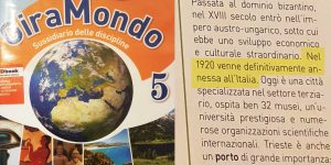 The blatant lies on an Italian textbook, adopted also in the Free Territory of Trieste