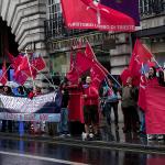 Citizens of Trieste in Regent Street, London – 6 october 2014